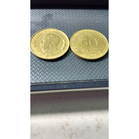 Moeda Argentina - 50 Pesos 1980 -