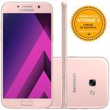 Samsung Galaxy A7 2017 32gb Dual 4g 16mp Rosa Vitrine 2