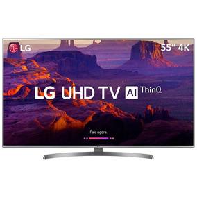 Smart Tv Led Lg55uk6540 55 Ultra Hd 4k Hdmi/usb Prata