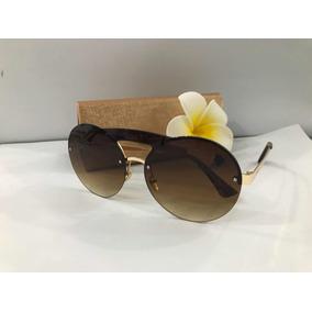Óculos De Sol Redondo Marrom Round Candy Outras Marcas - Óculos no ... ff7cb3d65f