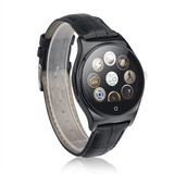 Smartwatch Reloj Inteligente Cuero Premium R11 Android Cel !