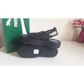 2ed1c3ee328 Sandalia Puma - Sapatos Preto no Mercado Livre Brasil