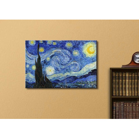 c996f686300aa2 Decoración Wall26 - Starry Night By Vincent Van Gogh - Oil