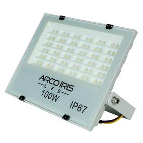 Refletor Led Holofote 100w Ip67 Alta Super Iluminação Bivolt