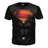 Camiseta Superman Superheroe Adulto Dc Anime Exclusivas