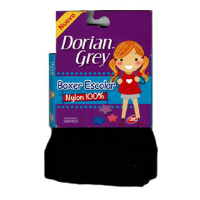 12 Boxers Escolar Dorian Grey Nylon