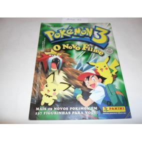 Álbum - Pokémon 3 - (o Novo Filme) - Panini - A83