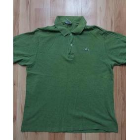 Playera Tipo Polo Lacoste Talla 5 Verde