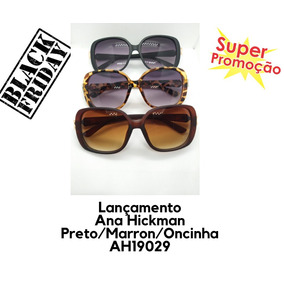8df4ecdb673bb Lindo Óculos Ana Hickmann Ah3071 Branco   Preto - Óculos no Mercado ...