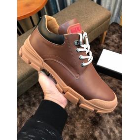 Bogotá D.C. · Zapatos Botas Gucci Cuero Hombre Originales b5de31a46f9