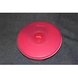 Discman Sony Walkman - D-fj003 - Cd, Radio Am/fm - Rosa