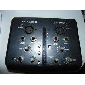 Interface De Gravação M Audio M Track 2x2 Defeito
