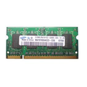 Memoria Para Notebook Samsung 512mb Ddr2 667 A2883
