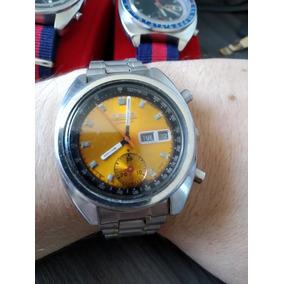 Seiko 6139-6030 Dourado Cronógrafo Automático Fevereiro 1970
