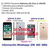 Iphones 6s Plus De 64gb
