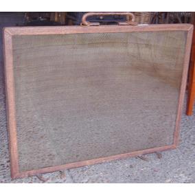 Chisperos Para Chispas Hogar A Leña 70 X 1.20 Hierro Oxidado