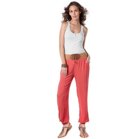 Padrisimo Pantalon De Playa Marca Holly Land Talla Xs