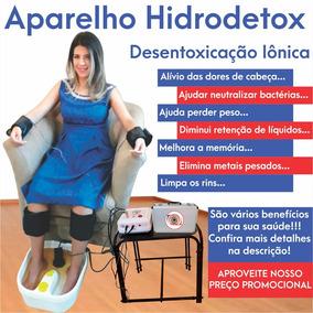 Aparelho Detox - Desintoxicação Iônica Spa Duplo Atendimento