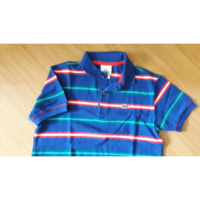 56d621261deed Camiseta Polo Lacoste Infantil - Calçados