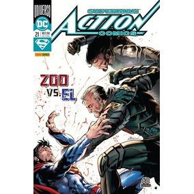 Hq Superman Action Comics Nº 21 Ed Dez/2018 - Zoo Vs El