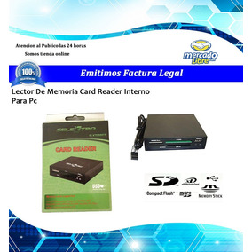 Lector De Memoria Card Reader Interno Para Pc