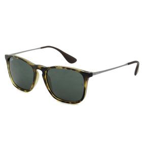 63a5a67fe585b Armação Rayban Chris Rb4187 Unissex Lentes Transparentes - Óculos no ...