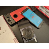 Moto Z2 Play + Moto Snap Câmera + Moto Snap Gamepad