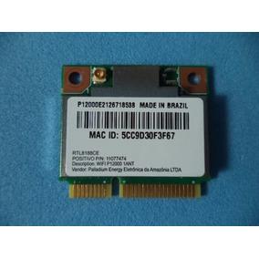 Placa Rede Wifi Mini Pci Positivo Sim+ 755