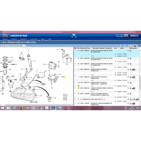 Suporte Reservatorio Vapor Combustivel Ka 97 A 2007 Ford C