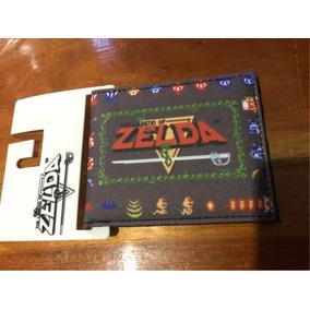 The Legend Of Zelda Billetera Gris