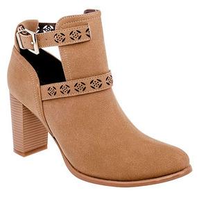 55703183 Zapatos Tacon Corrido Beige Botas - Zapatos para Niñas en Mercado ...