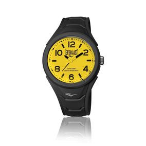 Relógio Everlast Shape E709 Caixa Abs Revestido De Silicone