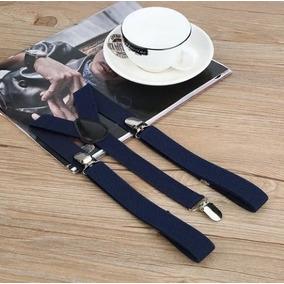 Tirantes Elásticos Pantalón De Hombre Ajustables 5 Colores