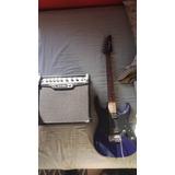 Guitarra Electrica Ibanez Gio Y Amplificador Line 6 Spideriv