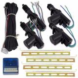 Kit Trava Elétrica 4 Portas Dupla Serventia Com Suportes
