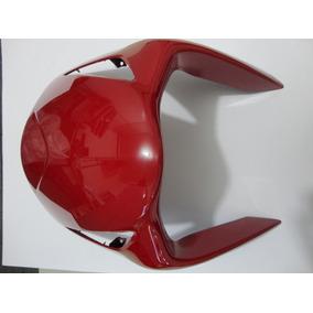 Carenagem Escudo Honda Biz 2006-2010 Vermelha