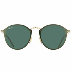 0510513234555 Óculos De Sol Ray Ban Rb3574 Round Blaze Original