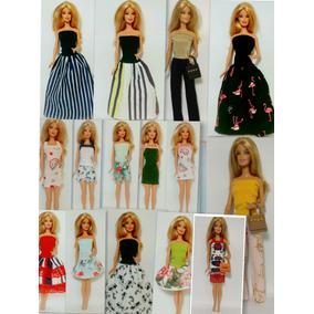 Kit 15 Roupinhas Fashion Veste Barbie,frozen