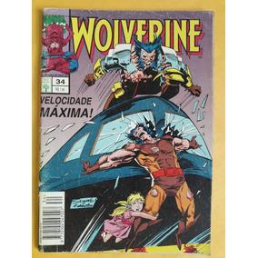 Hq Wolverine N° 34 - Editora Abril