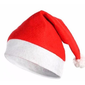 12 Gorros Santa Clous Claus Posadas Navidad Fiestas