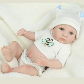 Hecho A Mano Bebé Realista Muñecas Cuerpo Entero Vinilo