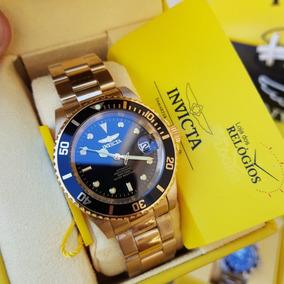 Relógio Invicta Pro Diver Ref 8929ob Automático B.ouro 18k