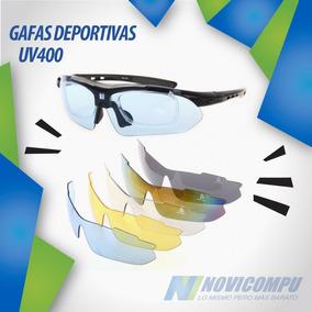 Gafas Deportivas Uv400 Con 5 Lentes Intercabiables Ciclismo