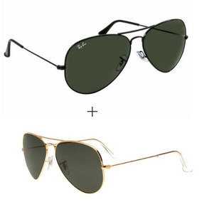 6bf6bf056fd9a Óculos Rayban Aviador Masculino Original - Óculos De Sol Ray-Ban ...