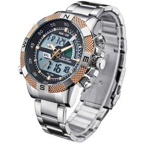 Relógio Masculino Pulso Weide Digital E Analógico Wh-1104-2
