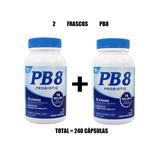 2 X Pb8 14 Bilhões Mistura Probiótica 240 Cps Pronta Entrega