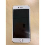 Apple Iphone Branco Com Dourado 7 128gb - 1 Ano De Uso