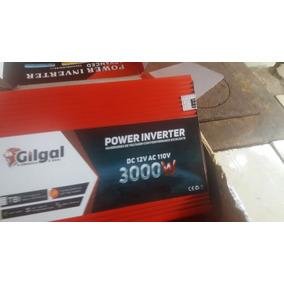 Inversor Solar Gilgal 3000w 12v 110v Envio Rápido