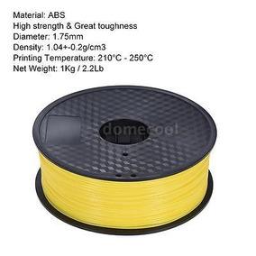 Impresora 3d Diy Abs Filamento 1kg/2,2 Lb 1,75 Mm Para Anet