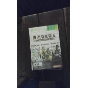 Metal Gear Solid Xbox 360 Desbloqueado